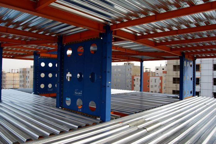 سقف های عرشه فولادی یا متال دك چیست؟